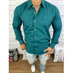 Camisa Manga Longa Ralph Lauren Verde
