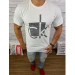 Camisetas CK Branca