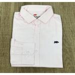 Camisa Manga Longa DG Rosa Liso