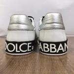 Tenis Dolce & Gabbana - Calcanhar Prata