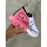Tênis Dolce Gabbana - Branco com Rosa G7✅