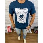 Camiseta Cavalera Azul