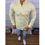 Camisa Manga Longa Ralph Lauren amarela