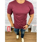Camiseta Tommy Hilfiger Vinho
