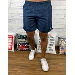 Bermuda Short Ralph Lauren - Azul Logo Branco