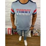 Camiseta Tommy Hilfiger - Diferenciada Cinza