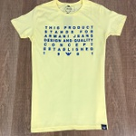 Camiseta Armani - Amarelo
