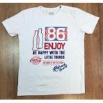 Camiseta Coca Cola - Branca