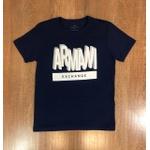 Camiseta Armani - Azul Marinho ⭐
