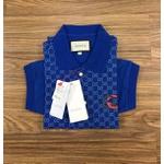 Polo Gucci Azul Bic