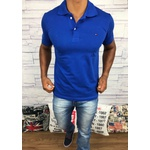 Polo Tommy Azul Royal