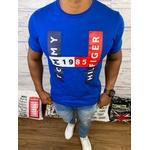 Camiseta Tommy Hilfiger - Azul Bic