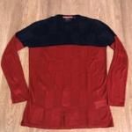 Suéter Rv - Azul Marinho e vermelho