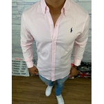 Camisa Manga Longa R.l (rosa Claro)