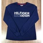 Camiseta Manga Longa Tommy Hilfiger - Azul marinho