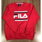 Blusa de Frio Fila - Moletinho Vermelho