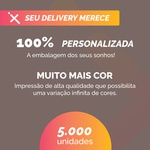 -CAIXA PARA FRITURAS DELIVERY GRANDE PERSONALIZADA - 5000 UNIDADES