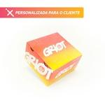 -CAIXA LANCHE HAMBURGUER GRANDE PERSONALIZADA - 3000 UNIDADES