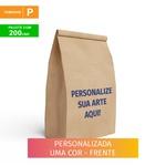 SACO S.O.S DELIVERY TRADICIONAL PERSONALIZADO - TAMANHO P - 200 UNIDADES