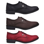 Kit 3 Pares de Sapatos Masculino