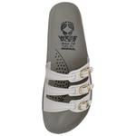 Sandália Ortopédica Webe Flex Super Conforto 3 Tiras Branco