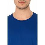 Camiseta Masculina Lisa - Azul