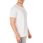 Camiseta Masculina Lisa - Branca