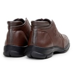 Sapato Zevio Masculino New Holland NHF2509 Original - Brown