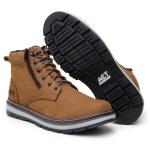 Bota ACT Footwear Zip One Osso + Meia Brinde