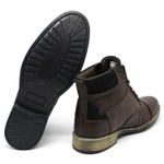 Bota Tchwm Shoes - Café / Preto