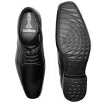 Sapato Social Roma em Couro Preto Calçados Império
