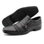 Sapato Social Masculino Em Couro Império - Cor Preto