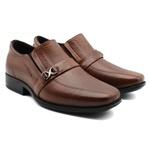 Sapato Social Infanto Juvenil Couro Império - Cor Marrom