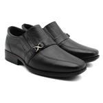 Sapato Social Infanto Juvenil Couro Império - Cor Preto