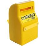 CAIXA P/CORREIO PVC 32X20X12 AMARELA