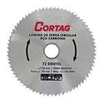 DISCO SERRA CIRCULAR C/VIDEA 4.3/8 72D.