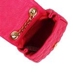 Bolsa Infantil Isabella de Couro Pink