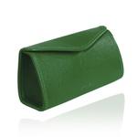 Estojo de Couro Verde Bandeira