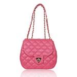 Bolsa Tiracolo Marilyn Couro Pink Blush