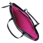 Bolsa Adrien Shopping Bag Preta de Couro