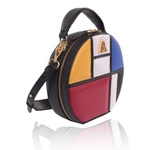 Bolsa Artball Couro Mondrian Transversal