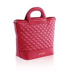 Bolsa Lassie Bucket Bag Couro Vermelho Mateassê