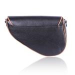 Bolsa Saddle Bag Parker com Animal Print com Alça Transversal