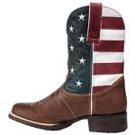 Bota Texana Bandeira Estados Unidos