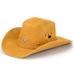 Chapéu Cowboy Em Couro Legítimo