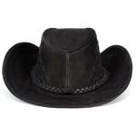 Chapéu Texano Modelo Couro Legítimo