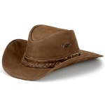 Chapéu Clássico Modelo Texano Tabaco
