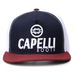 Boné Personalizado Capelli Boots Rosa Com Branco