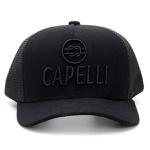 Boné Personalizado Capelli Boots Todo Preto Com Tela