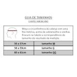 Chapéu De Boiadeiro Couro 100% Legítimo Cor Preto